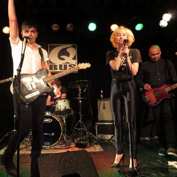 July Talk @ QBus - Photo by Carolyn Marsh